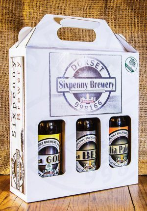 Sixpenny Brewery Selection box