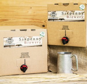Sixpenny Brewery Box of Beer